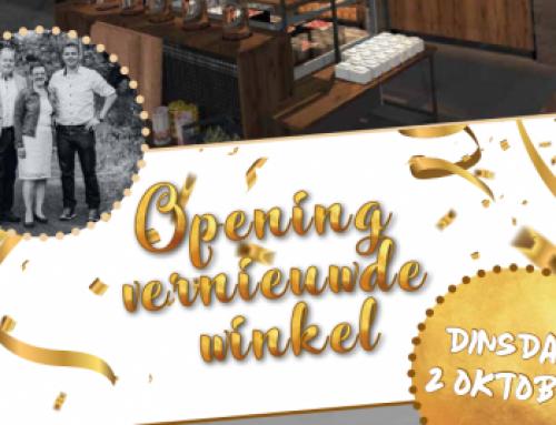Opening vernieuwde winkel